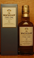 Macallan 12 Y.O. Fine oak
